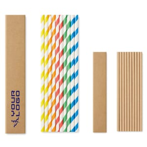 Set cannucce PAPER STRAW