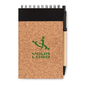 Notebook A6 in carta riciclata SONORACORK