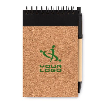 Notebook A6 in carta riciclata SONORACORK
