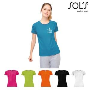 T-shirt donna SPORTY