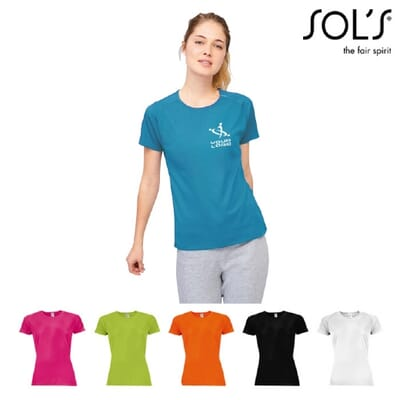T-shirt donna SPORTY