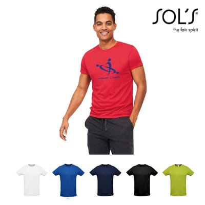 T-shirt unisex manica corta  SPRINT