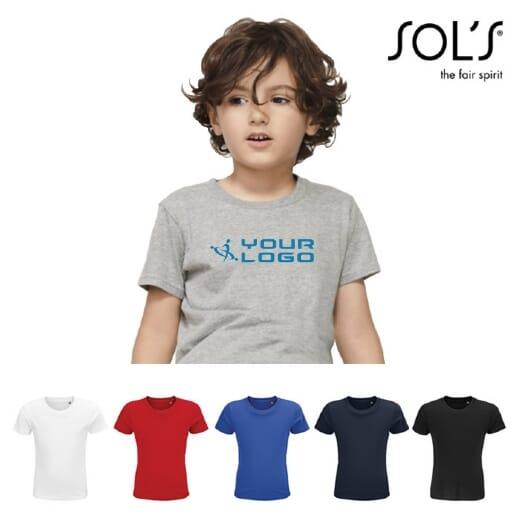 Magliette personalizzate da bambino CRUSADER