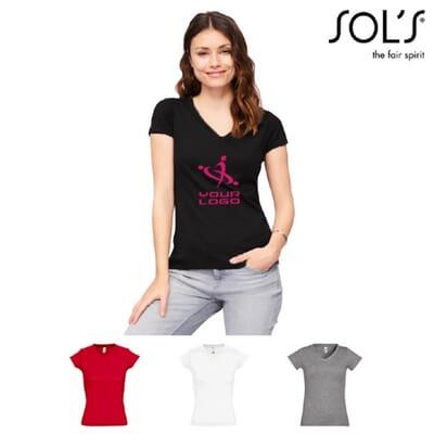 Magliette da donna scollo a V - MOON