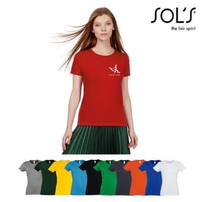 T-shirt da donna SOL'S IMPERIAL