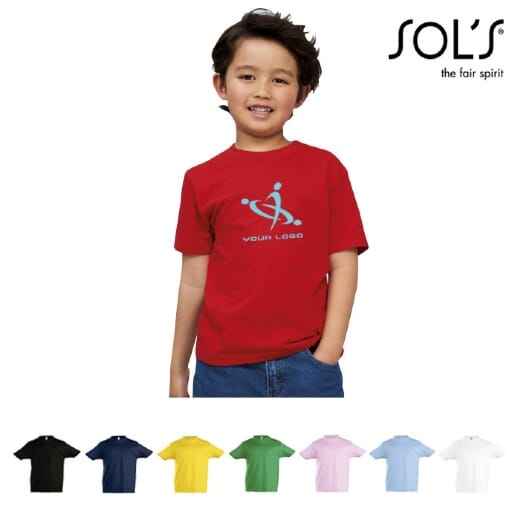 Magliette da bambino SOL'S IMPERIAL KIDS