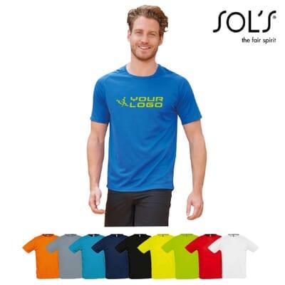T-shirt da uomo a manica corta SPORTY