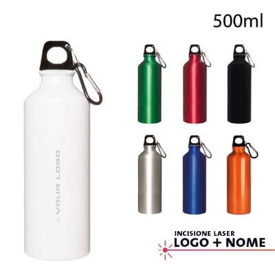 Borraccia in alluminio COGNO - 500 ml