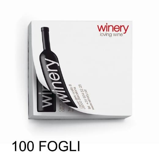 Stick notes quadrato SN01 100 fogli