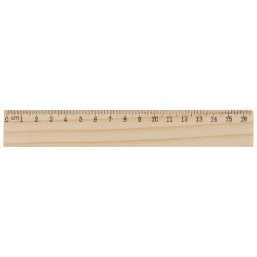 Righello in legno ONESIX - 1