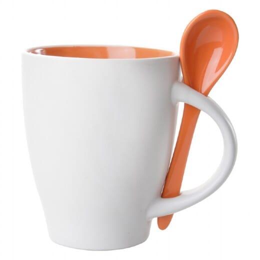 Tazza con cucchiaio SPOON - 300 ml - 3