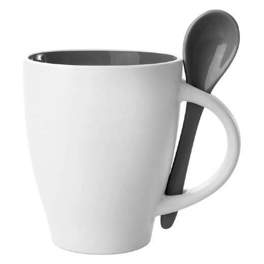 Tazza con cucchiaio SPOON - 300 ml - 6
