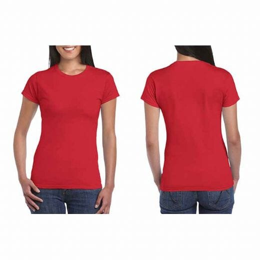 Tshirt da donna Gildan Soft-Style Lady - 5