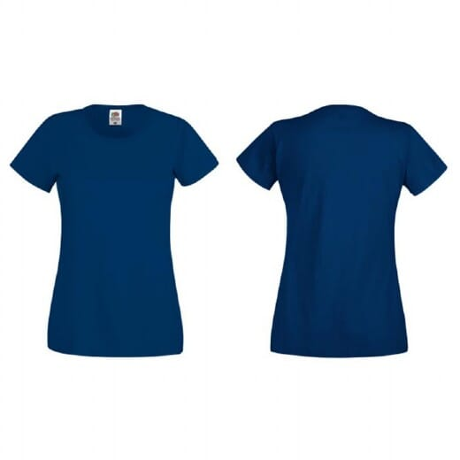 T-shirt Fruit Of The Loom Ladies ORIGINAL T - 7