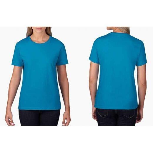 T-shirt GILDAN Premium Cotton - DONNA - 36