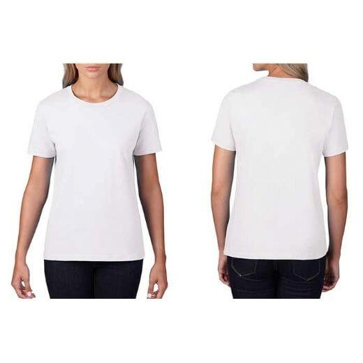 T-shirt GILDAN Premium Cotton - DONNA - 1