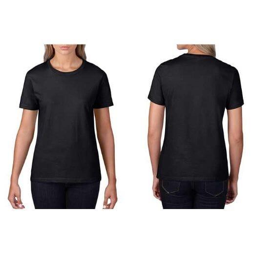 T-shirt GILDAN Premium Cotton - DONNA - 26