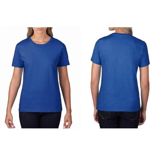 T-shirt GILDAN Premium Cotton - DONNA - 16