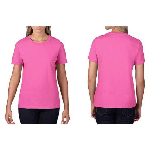 T-shirt GILDAN Premium Cotton - DONNA - 6