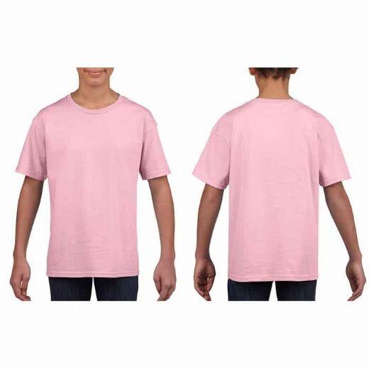 T-shirt Gildan SOFT STYLE da bambino - 11