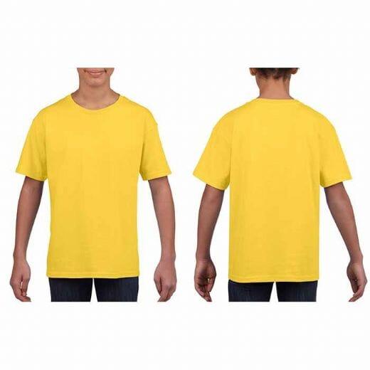 T-shirt Gildan SOFT STYLE da bambino - 6