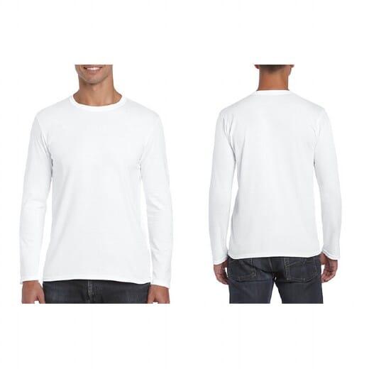 Magliette Gildan Soft-Style manica lunga da uomo - 1
