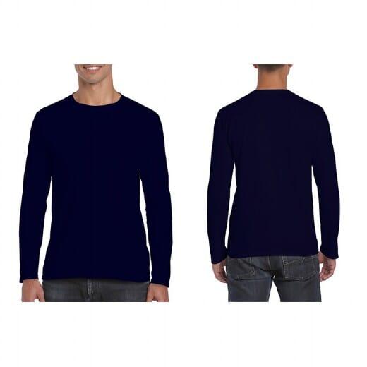 Magliette Gildan Soft-Style manica lunga da uomo - 11