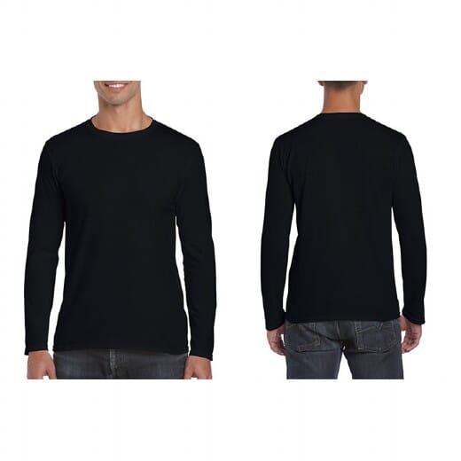 Magliette Gildan Soft-Style manica lunga da uomo - 16