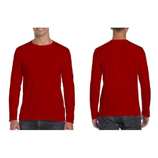 Magliette Gildan Soft-Style manica lunga da uomo - 6