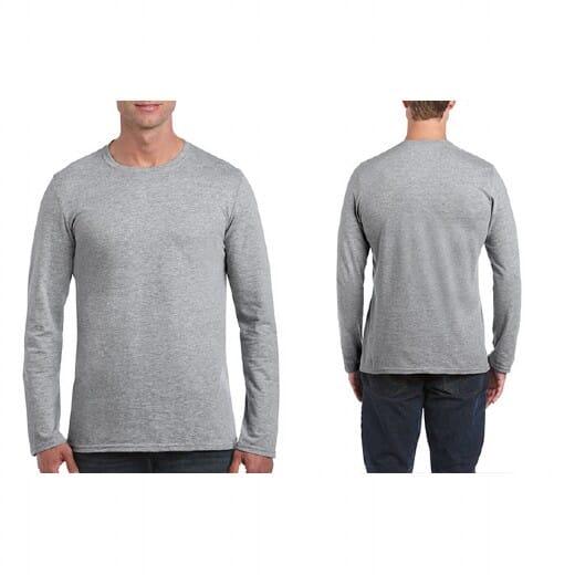 Magliette Gildan Soft-Style manica lunga da uomo - 21