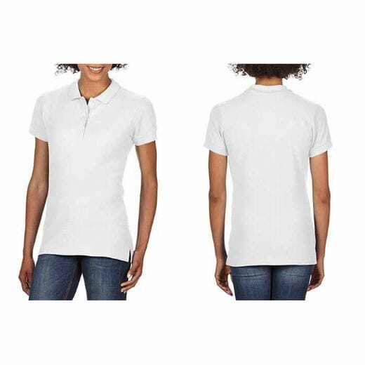 Polo da donna Gildan Premium Cotton - 1