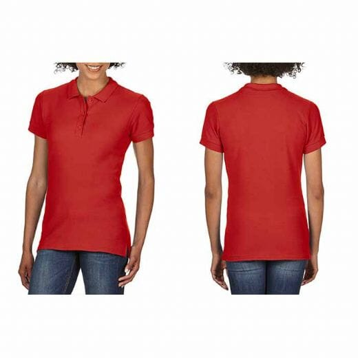 Polo da donna Gildan Premium Cotton - 6