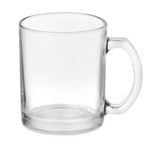 Tazza in vetro SUBLIMGLOSS - 300 ml - 1