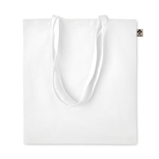 Shopper in cotone organico ZIMDE COLOUR - 1