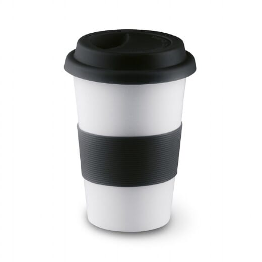 Tazza in ceramica e silicone TRIBECA - 400 ml - 4