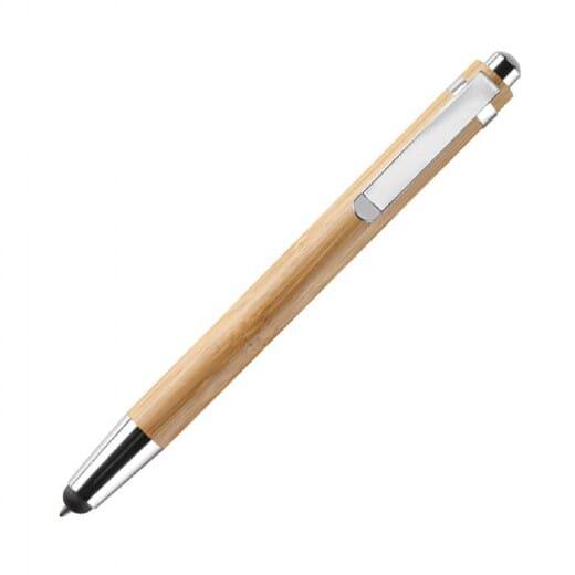 Penna a sfera in ABS e bamboo  BYRON - 1