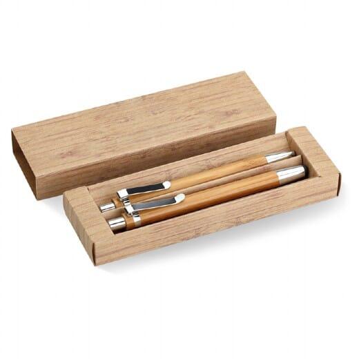 Set penna e matita in bambu  BAMBOOSET - 1