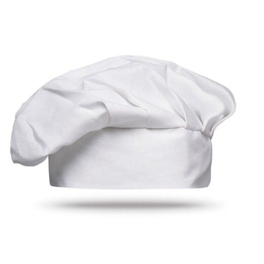 Cappello da cuoco in cotone 1 CHEF - 1