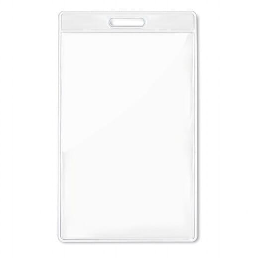 Porta badge trasparente 7,5x12 BADGO - 1