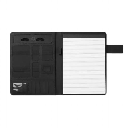Porta blocco A4 con powerbank POWERFOLDY - 1