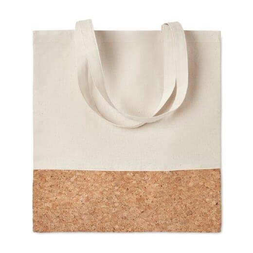 Shopper con dettagli in sughero ILLA TOTE - 1