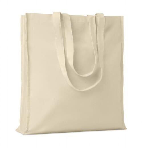 Shopper in cotone con soffietto PORTOBELLO - 1