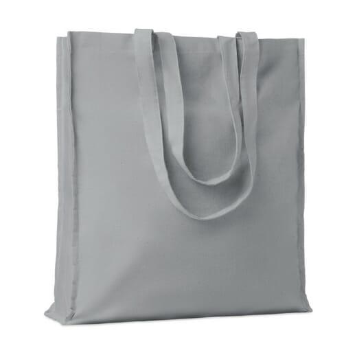Shopper in cotone con soffietto PORTOBELLO - 9