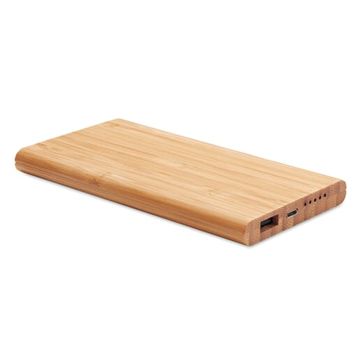 Power bank wireless in bamboo ARENA - 1