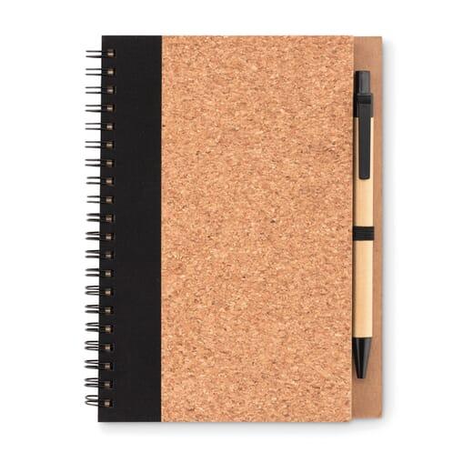 Notebook in carta riciclata SONORA PLUSCORK - 1