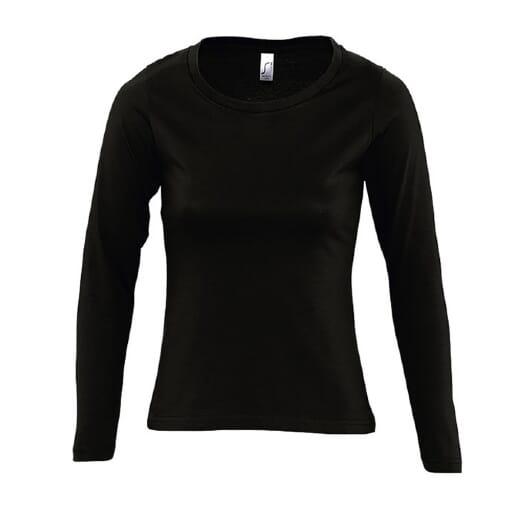 T-shirt da donna manica lunga MAJESTIC  - 11