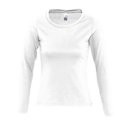 T-shirt da donna manica lunga MAJESTIC  - 1