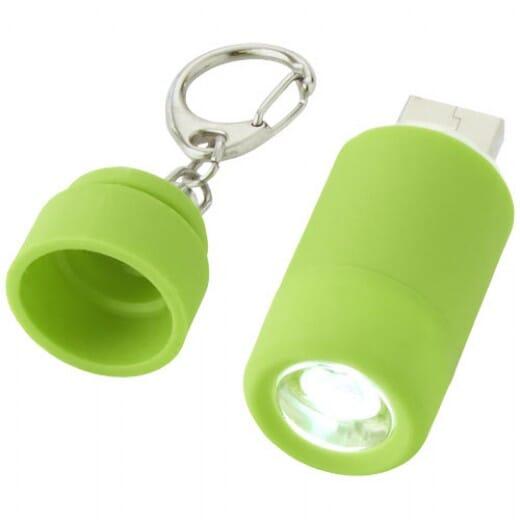 Portachiavi con Torcia Ricaricabile tramite USB AVIOR - 2