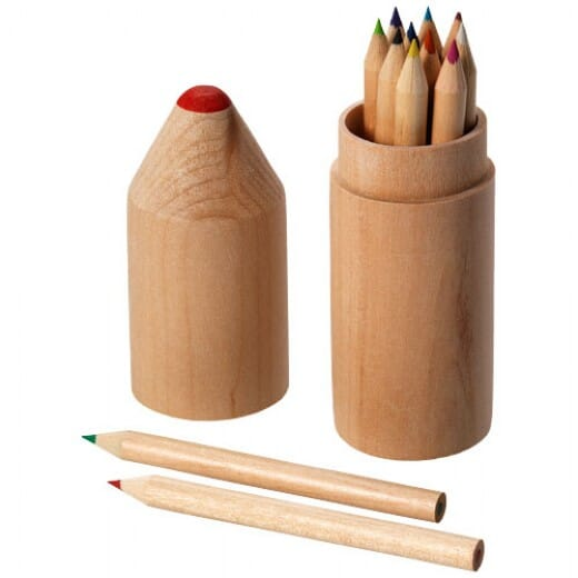 Set 12 matite colorate BOSSY - 1