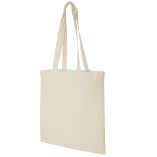 Shopper in cotone naturale MADRAS - 1